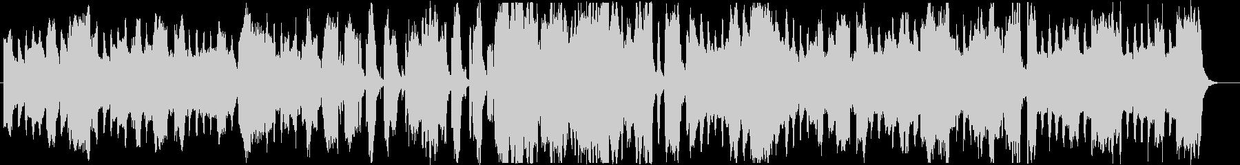 おばけホラーなBGM・ワルツ3拍子の未再生の波形