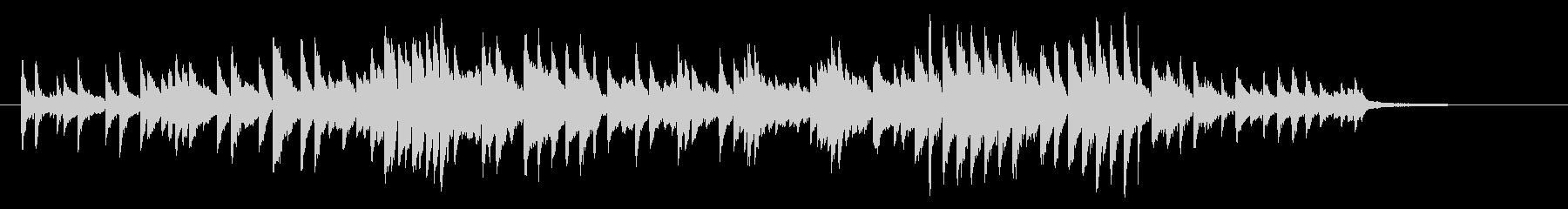 CMや映像をイメージした幻想的なピアノ曲の未再生の波形