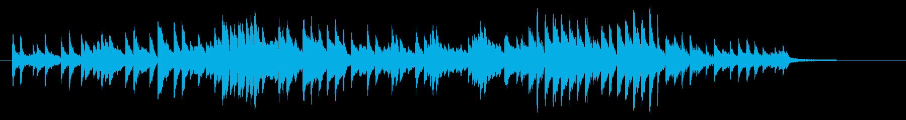 CMや映像をイメージした幻想的なピアノ曲の再生済みの波形