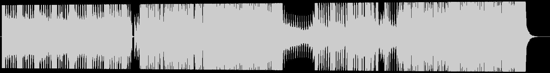 EDM、エレクトロハウスキャッチ―なメロの未再生の波形