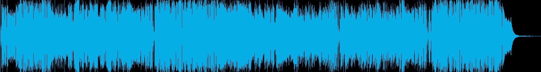ヴァイオリンの軽快なポップスの再生済みの波形