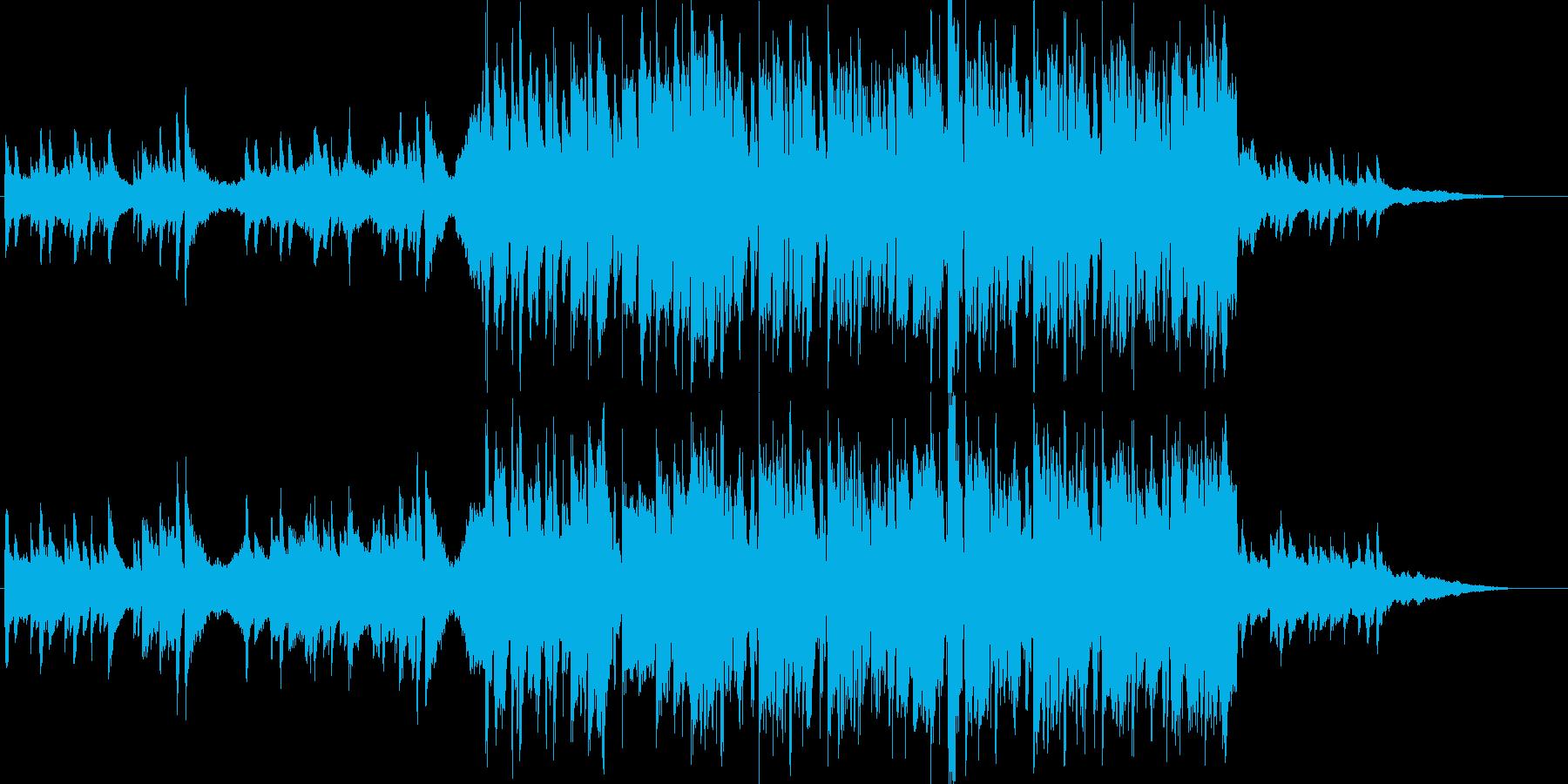 テレショッピング。クラシック、ロン...の再生済みの波形