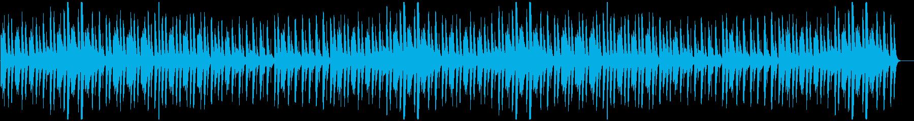 猫踏んじゃった【マリンバ】(ミドル)の再生済みの波形