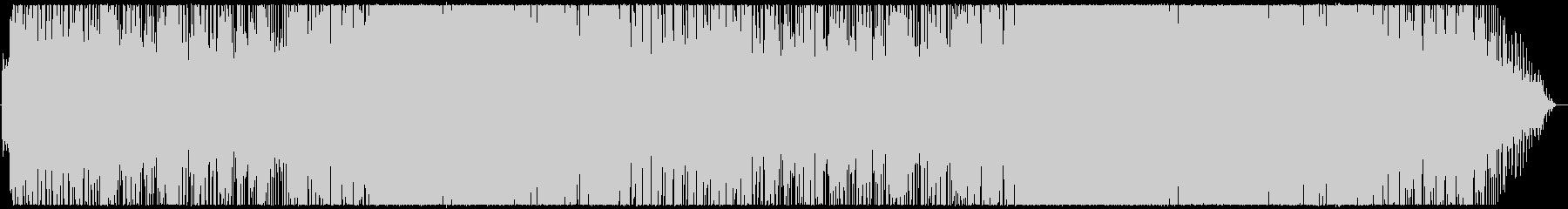 オシャレで軽快なノリの良いポップスの未再生の波形