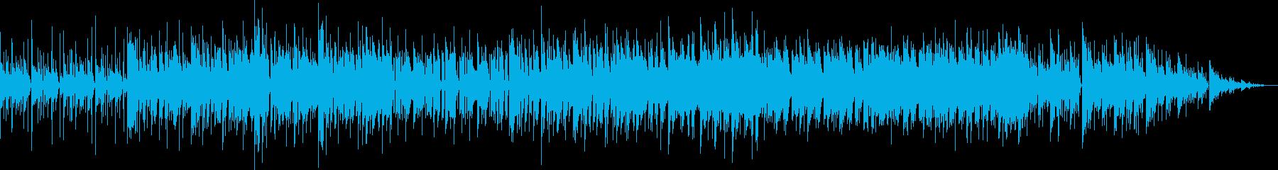 ちょっと面白いファンキーミュージックの再生済みの波形