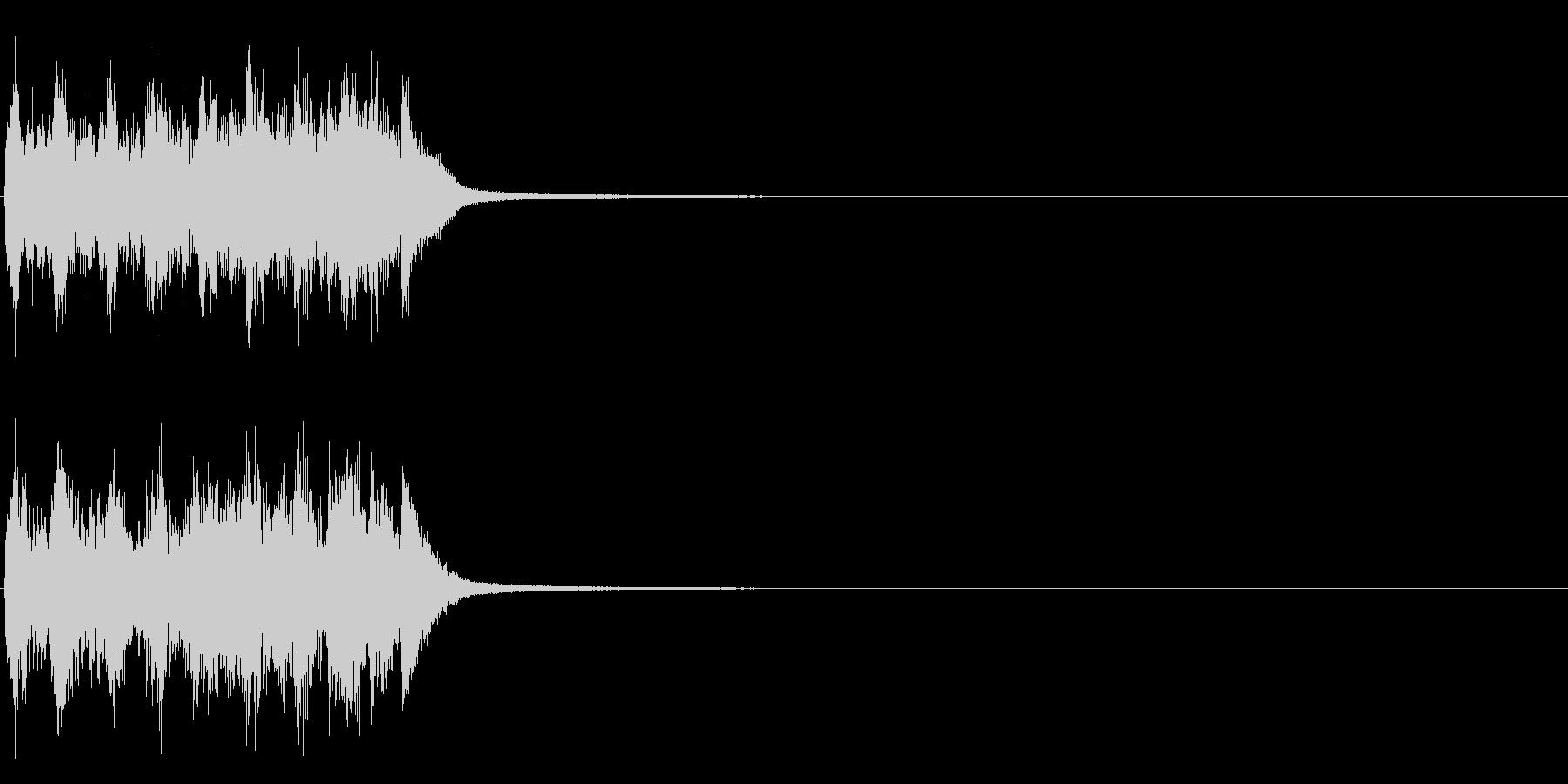 失敗etc  <コミカルな音~チーン>の未再生の波形