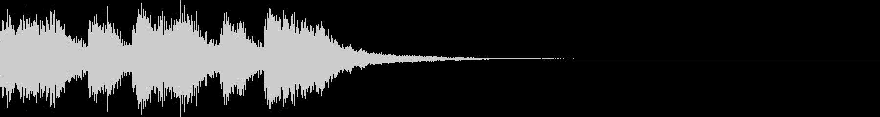 ファンファーレ アイテム レベルアップEの未再生の波形