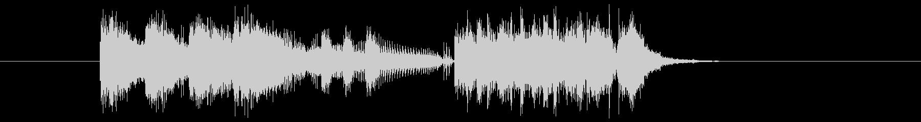 クイズ アタック テーマ エンディングの未再生の波形