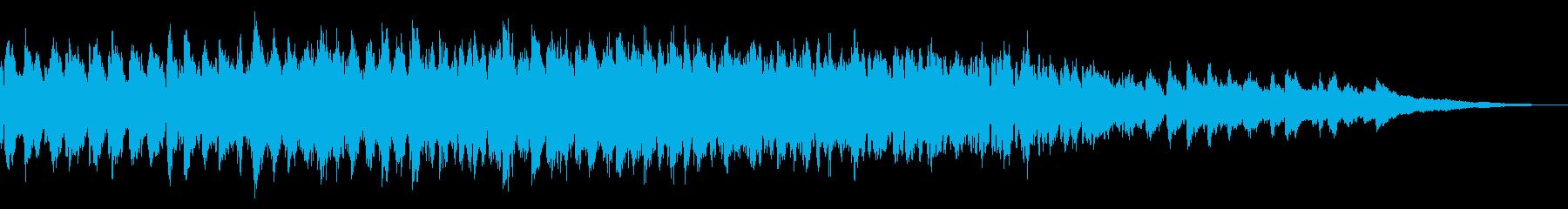 メルトン教会、4つの鐘:鐘の音が鳴り響くの再生済みの波形