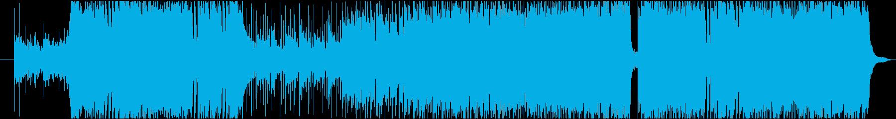 アニソンにありそうなマイナーポップスの再生済みの波形