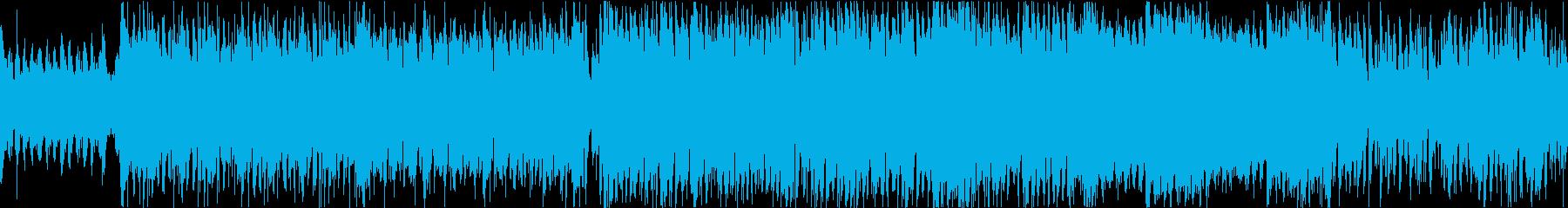 さわやかなケルト曲(ループ)の再生済みの波形