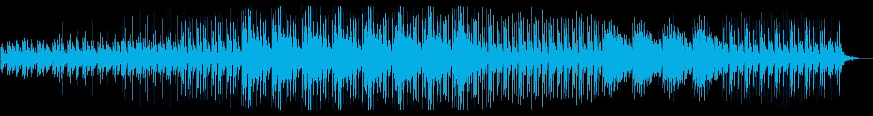 科学・医療番組の検証、解説向けのBGMの再生済みの波形