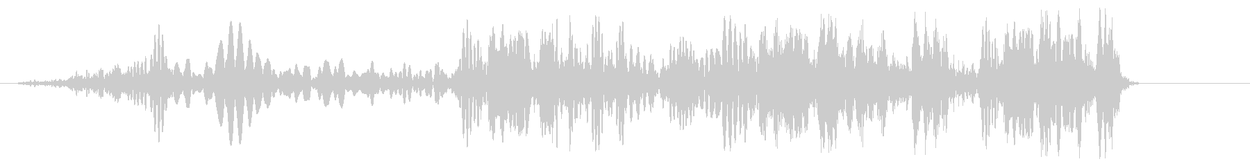 クルクル(ロープを巻く)の未再生の波形