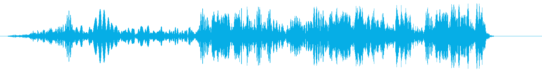クルクル(ロープを巻く)の再生済みの波形