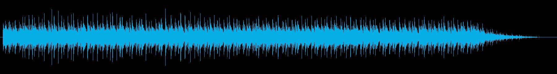 紀行もの風スタイリッシュなテクノサウンドの再生済みの波形