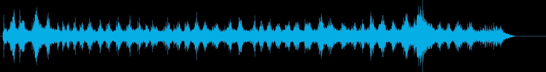 トラック;開始/回転/オフ;トラッ...の再生済みの波形