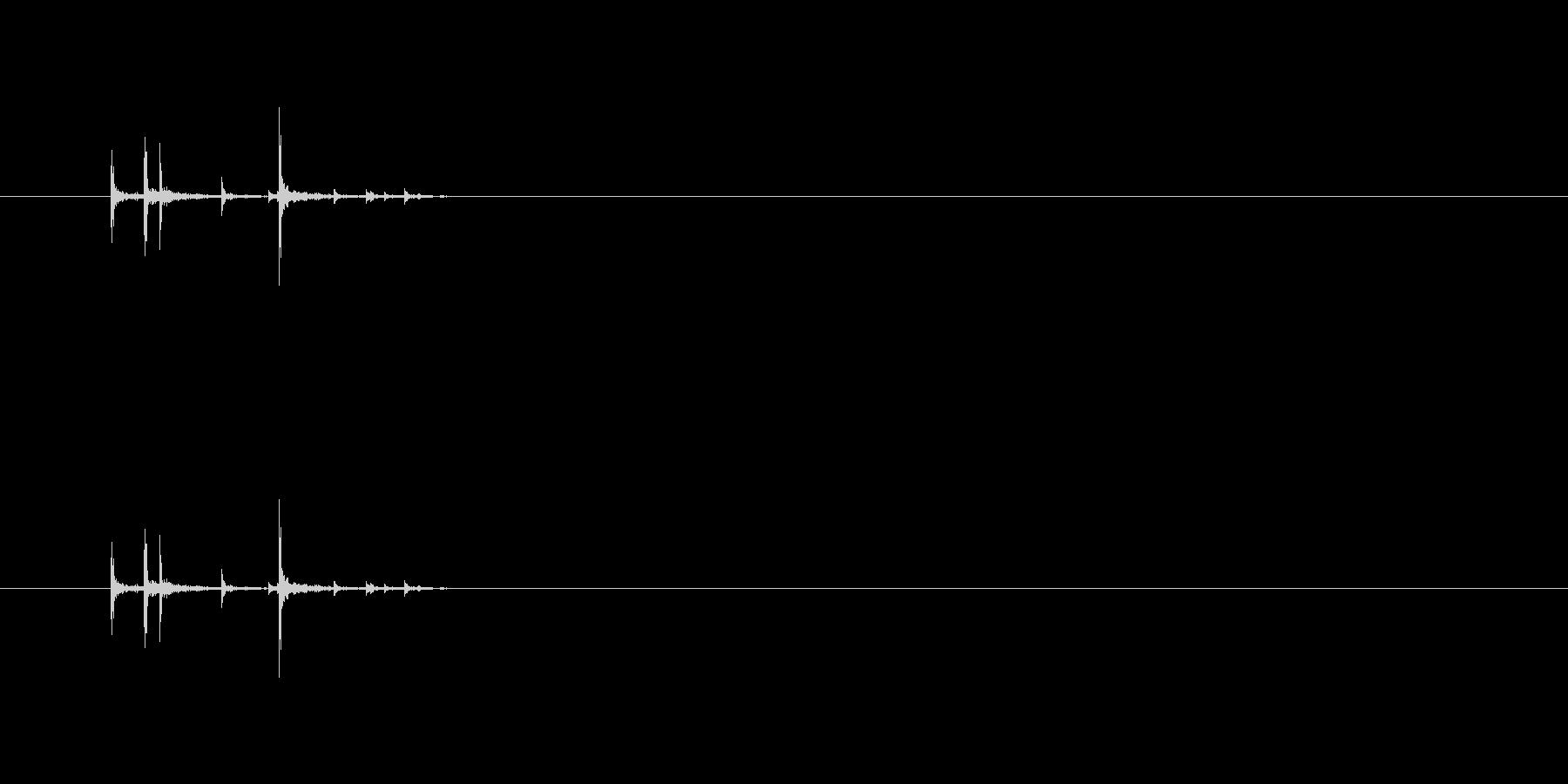 【フェルトペン03-14(置く)】の未再生の波形