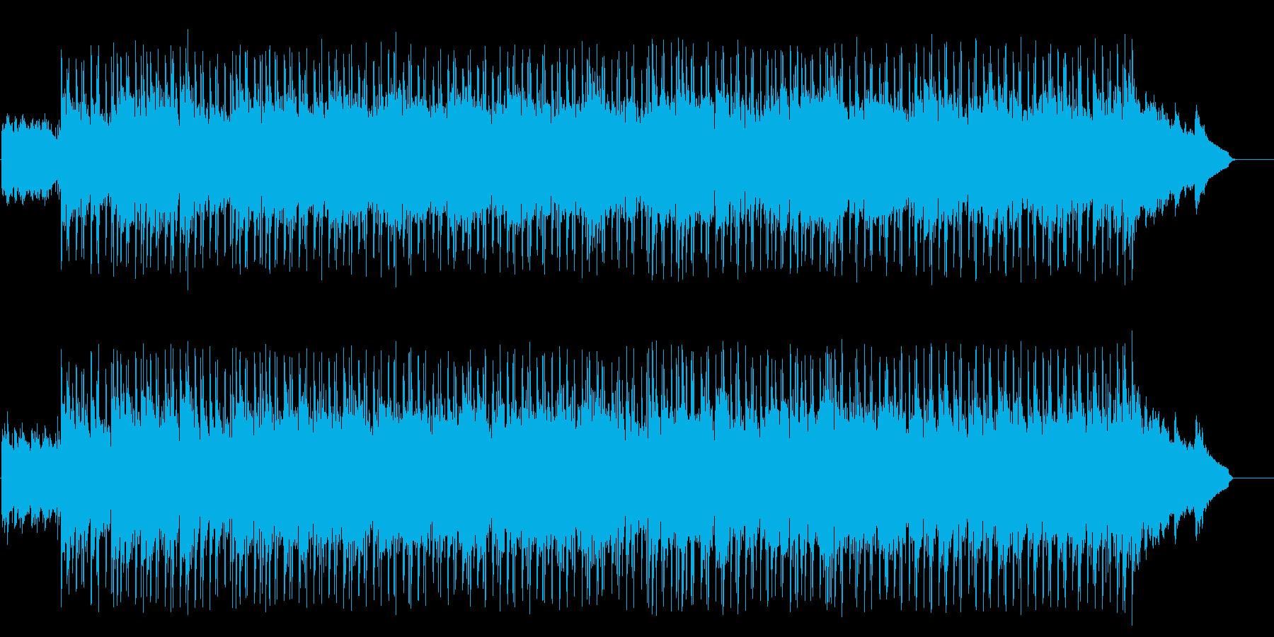 センチメンタルで切なげなポップバラードの再生済みの波形