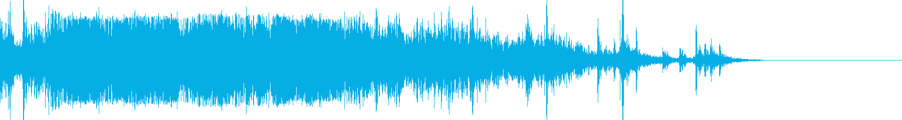 【動画用SE】短い拍手喝采。達成SEの再生済みの波形