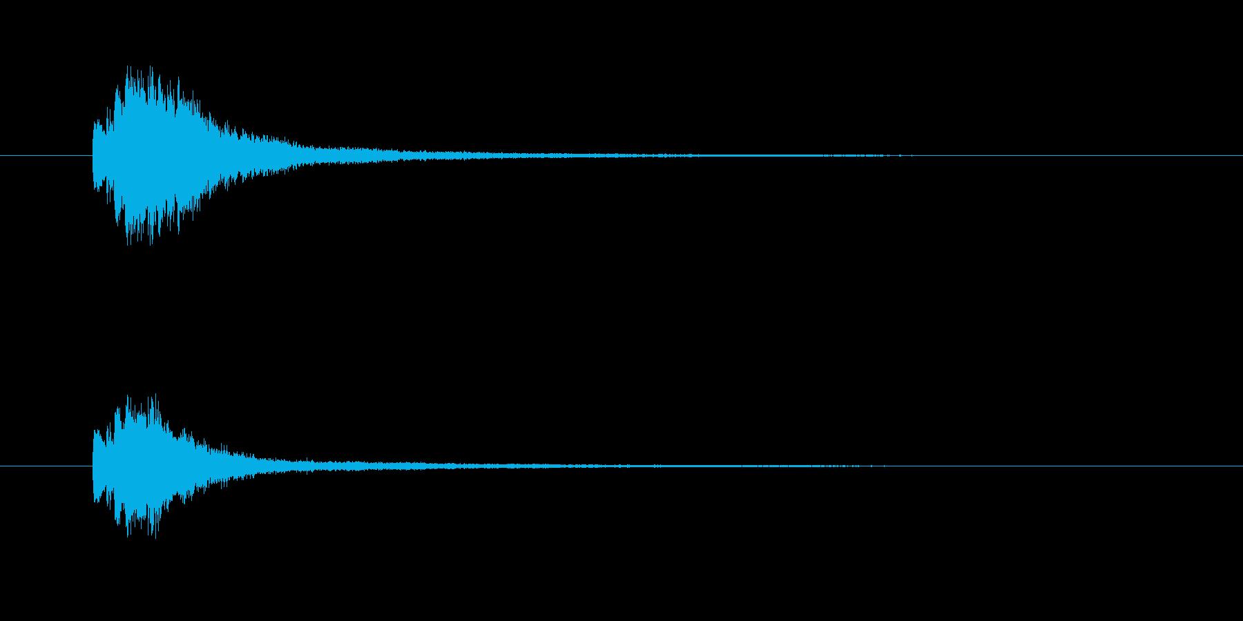 キラリン(変身、魔法、輝き)の再生済みの波形