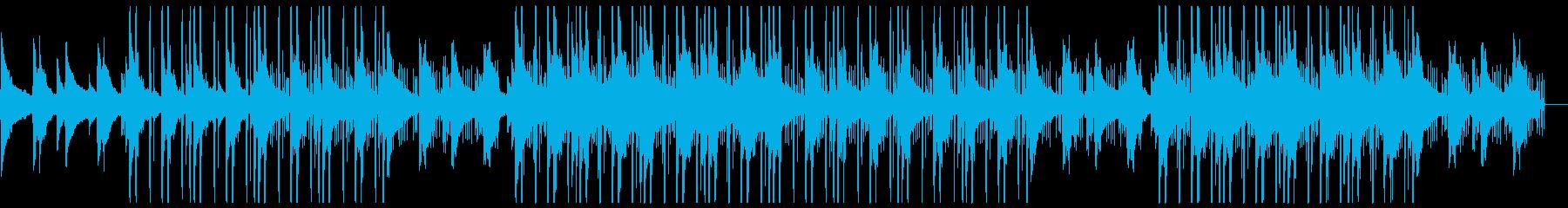 感動的・切ない・春に似合うトラップソウルの再生済みの波形