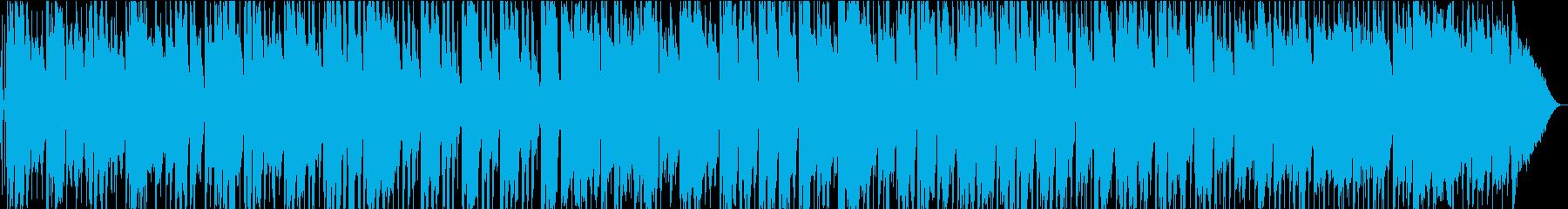ジャングリーリズムギター、流れるオ...の再生済みの波形
