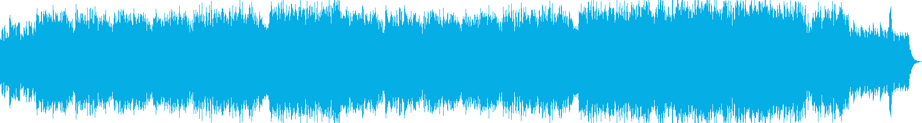 ポールモーリア風チェンバロとストリングスの再生済みの波形