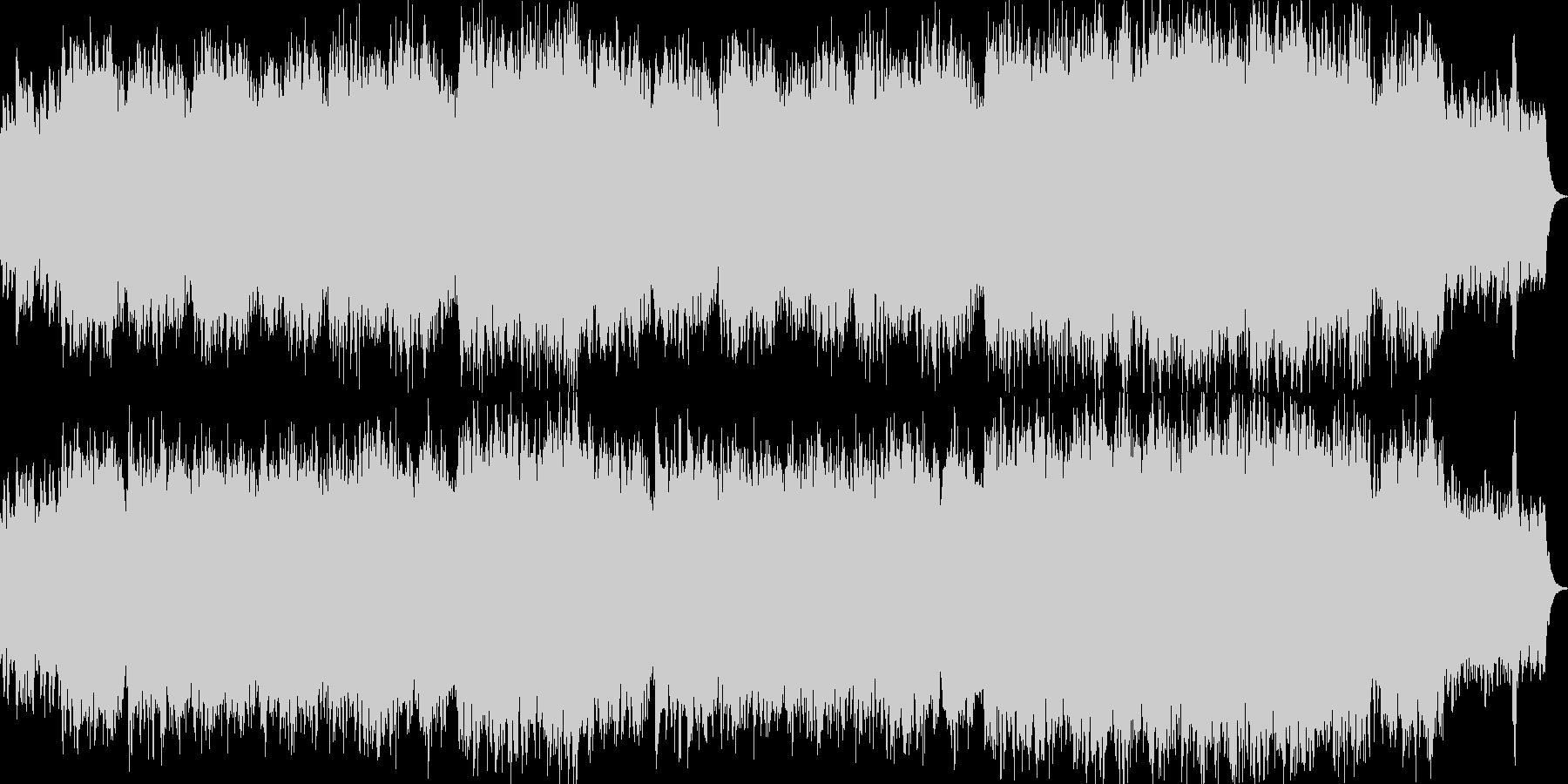 ポールモーリア風チェンバロとストリングスの未再生の波形