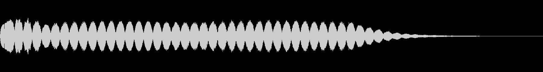 キュイン ギュイン 光る フラッシュ06の未再生の波形