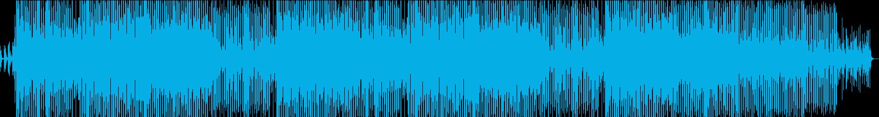 ディスコ風味の明るいポップナンバーの再生済みの波形