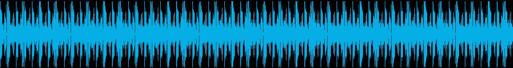 ヘリウム歌声、変な生き物、コミカル02の再生済みの波形