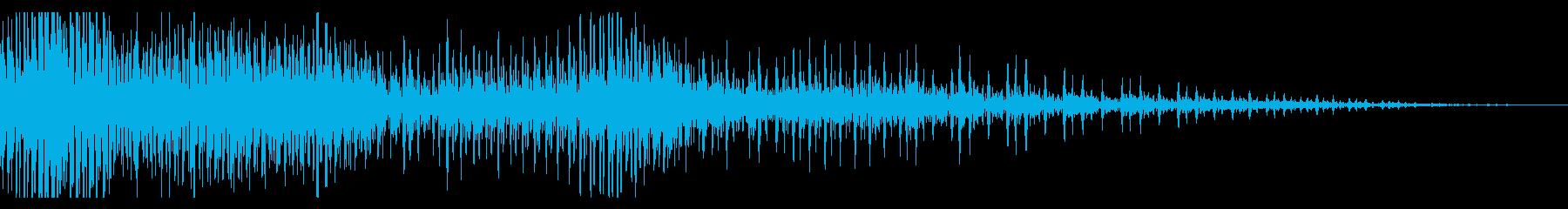 ハーレー系の大型バイク/エンジン効果音3の再生済みの波形