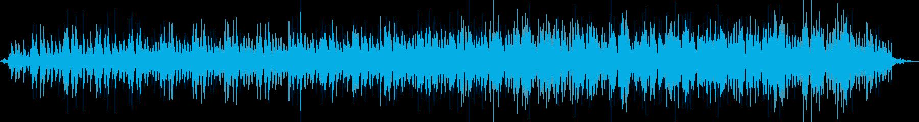ピースフルなクラシックギターアンビエントの再生済みの波形