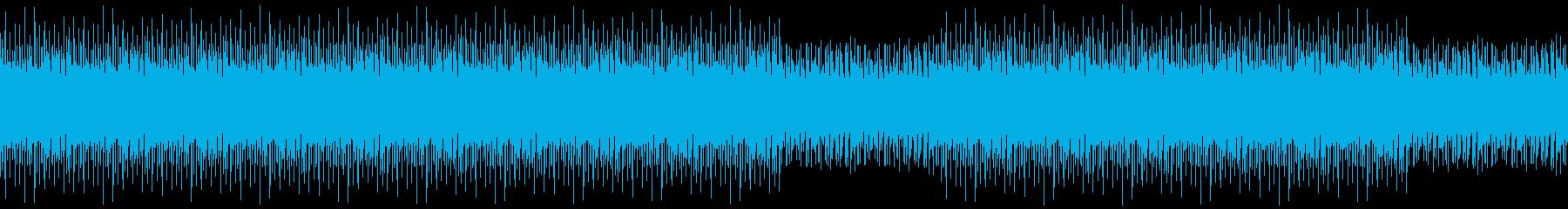 おしゃれ・ハウス・ゲーム・WEB・アプリの再生済みの波形