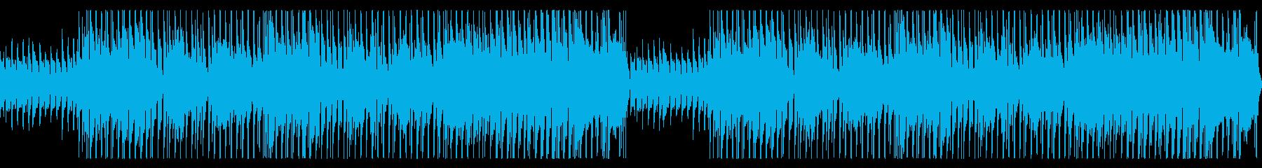 キッズ用04 朗読時の動画 ループ仕様の再生済みの波形