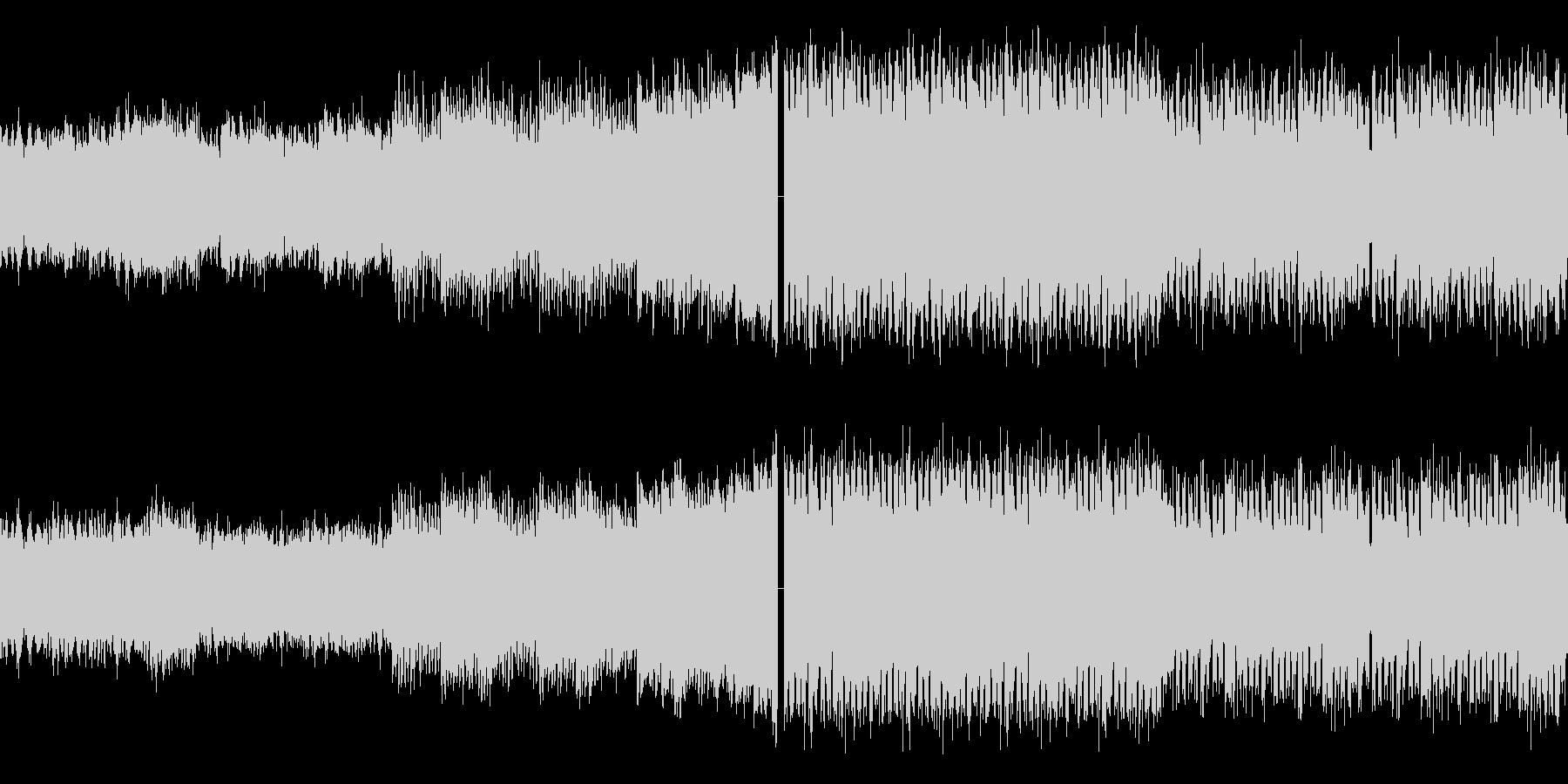 グリッジなEDMの未再生の波形