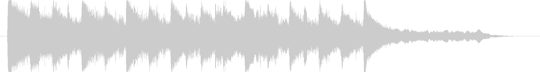 エキゾチックで怪しげな民族音楽ロゴの未再生の波形