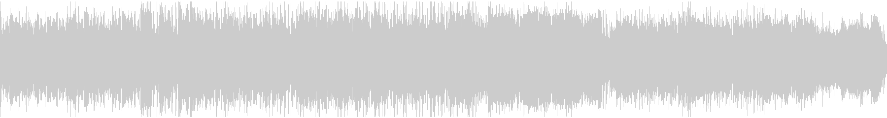寂しげなフォーク曲(ループ)の未再生の波形