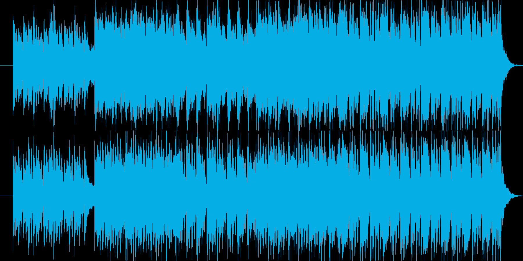 物語とか何かが始まるというイメージの曲…の再生済みの波形