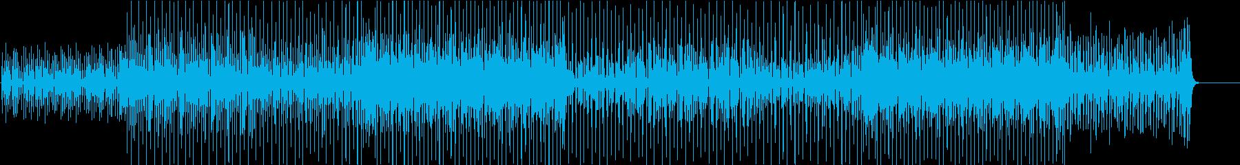明るく陽気なオルガンBGMの再生済みの波形