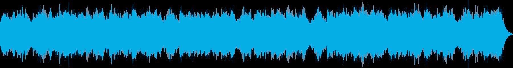 壊れた電子機器のようなホラーアンビエントの再生済みの波形