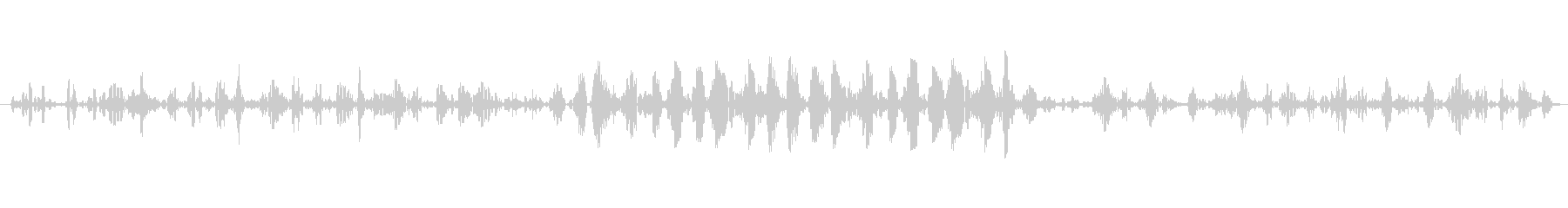 グランブルメカニカルローの未再生の波形