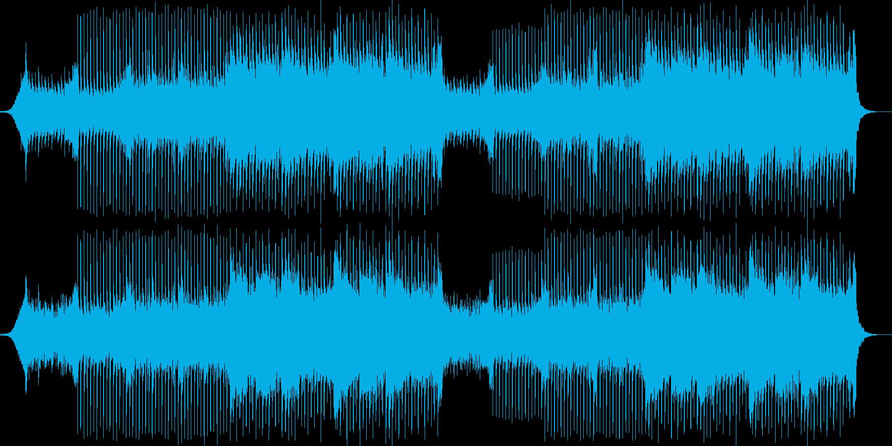 【爽やか】透明感、希望が湧くBGMの再生済みの波形