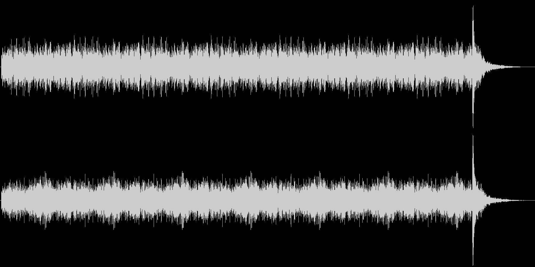 発表シリーズドラムロール30秒の未再生の波形