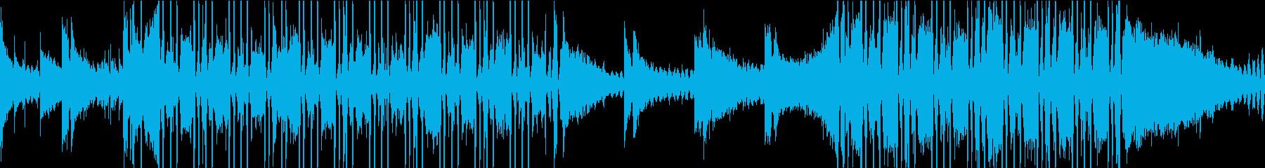 まどろむようなLofiヒップホップの再生済みの波形