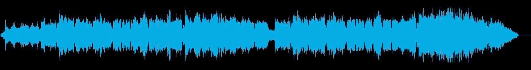雄大な自然を思わせる二胡メイン曲の再生済みの波形