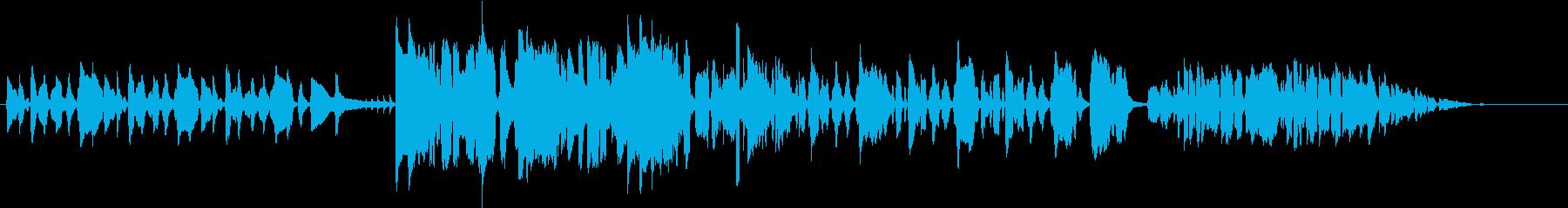 コメディ風のオーケストラ&ジャズの再生済みの波形