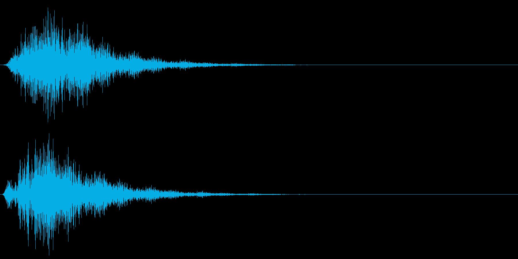 フワーワンワン…(怪しい・不思議・奇妙)の再生済みの波形