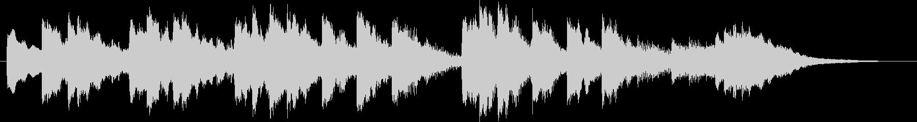 O Tannenbaum(チャイム)の未再生の波形