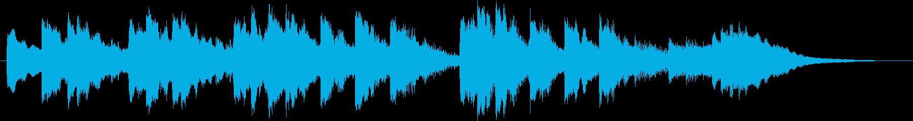 O Tannenbaum(チャイム)の再生済みの波形